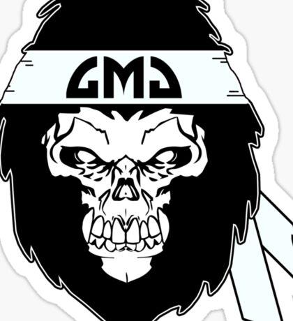 Gorilla Skull Sticker