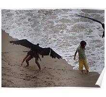 Eagle Catching A Girl: LOL - Aguilar Atrapando Una Niña: Carcajeando Poster