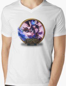 Snowstorm Sivir Mens V-Neck T-Shirt