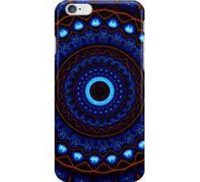Kaleidoscope 4 abstract mandala blue iPhone/iPod Case iPhone Case/Skin