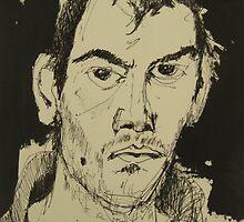 self portrait by Alfred Gillespie