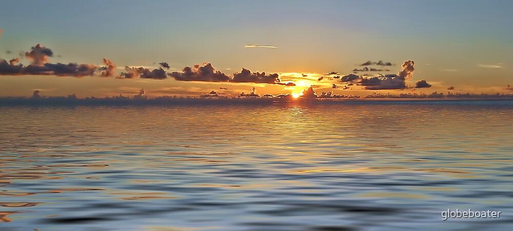 sunset by globeboater