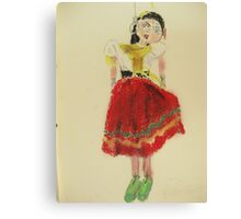 gypsy pelham puppet Canvas Print