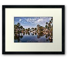 Life in Ft. Lauderdale Framed Print