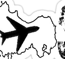 LOST ISLAND Sticker