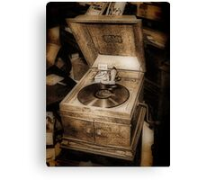 Victrola Talking Machine Canvas Print