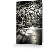 Melbourne Atrium Afternoon Sun Greeting Card