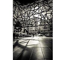 Melbourne Atrium Afternoon Sun Photographic Print