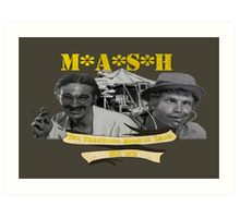 M*A*S*H: The Traveling Medical Show Art Print