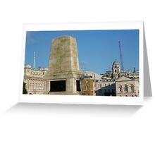London  Monument  Greeting Card