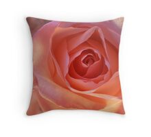 *** CHEERFUL PINK ROSE *** Throw Pillow