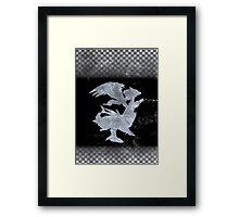 Pokemon Black Framed Print