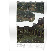 USGS Topo Map Washington State WA Lake Crescent 20110502 TM Poster