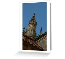 Juat roof in Bath Greeting Card