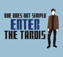 One Does Not Simply Enter The Tardis by ScottW93