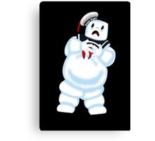 Scared Mr. Stay Puft. Canvas Print