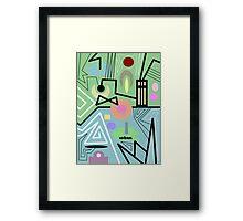 abstract urban 10 Framed Print