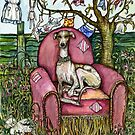 The Pink Chair - A Magical World of Hounds by Elle J. Wilson by Elle J Wilson