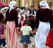 Bosnian Folk Dancers by HELUA