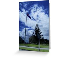 Arrival in New Zealand Greeting Card