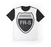 FR-S Interstate Blk Graphic T-Shirt