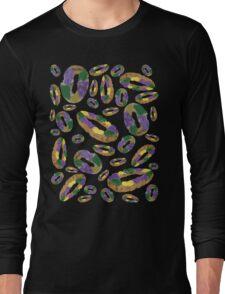 King Cake pattern Long Sleeve T-Shirt