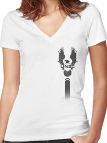 UNSC Women's Fitted V-Neck T-Shirt