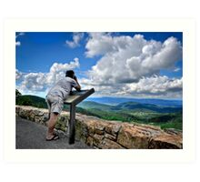 Gazing Upon the Shenandoah Valley Art Print