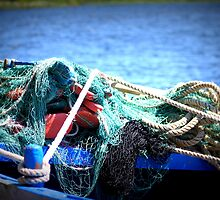 A moored up fishing boat by debp0503