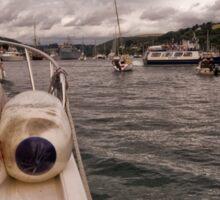 Wet Wheels Boat Trip, Dartmouth Sticker