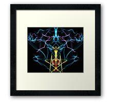 Abstract Hookah  Framed Print