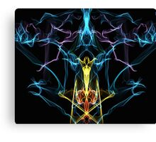 Abstract Hookah  Canvas Print