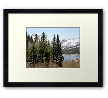An Almost Perfect Location Framed Print