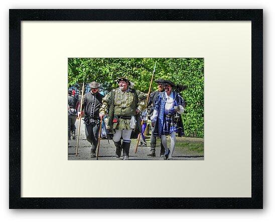 King Richard Strolls the Village by bannercgtl10