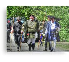 King Richard Strolls the Village Metal Print