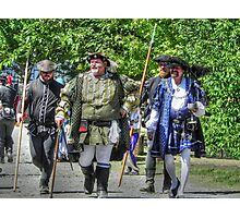 King Richard Strolls the Village Photographic Print