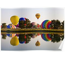 KLAQ Balloonfest 2012 Poster