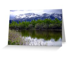 Lake Maskinonge Greeting Card
