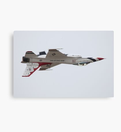 Air Force Thunderbirds Inverted Flying 6 Canvas Print