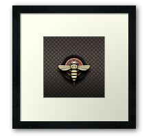Bee Cyborg V1 Framed Print