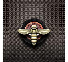 Bee Cyborg V1 Photographic Print