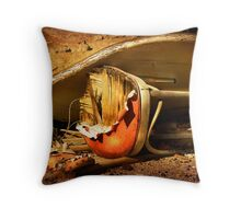 Chair at the Table Throw Pillow