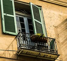 Balcony in French Quarter 4 by GJKImages