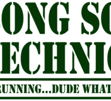Bong Squad Technician Sticker