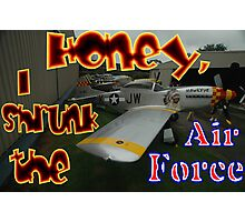 Honey, I Shrunk The Air Force, Tyabb 2012 Photographic Print