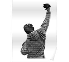 How Hard You Get Hit - Rocky Balboa Poster
