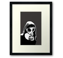 Nun-active  Framed Print
