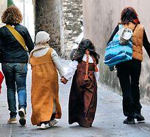 Best Friends Forever-San Gemini, Italy by Deborah Downes