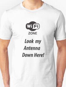 Wi-fi antenna Unisex T-Shirt