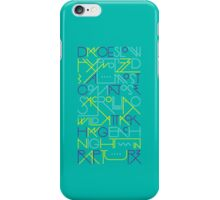 Rapture - Blue iPhone Case/Skin